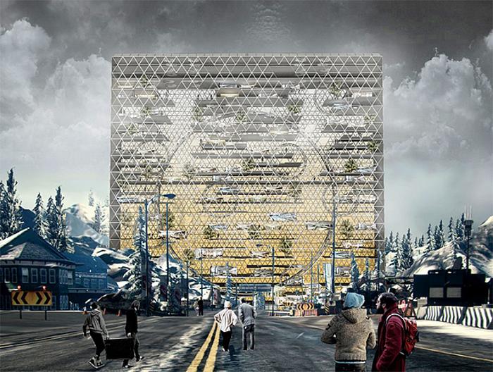 Китайці пропонують побудувати у Чорнобилі хмарочоси, які живитимуться від енергії сонця